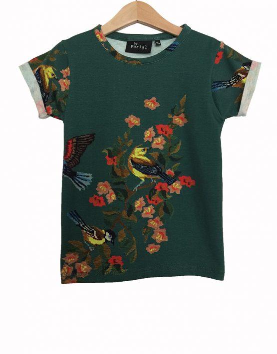green embroidery mini 1