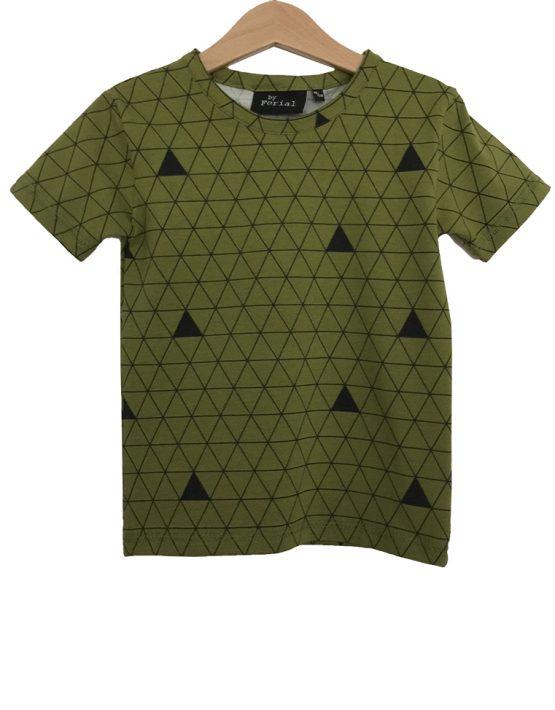 olijfgroen t-shirt 1