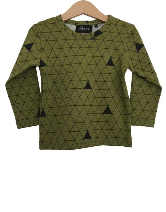 olijfgroene driehoek ls1