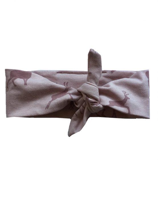 bandana lichtroze hertjes