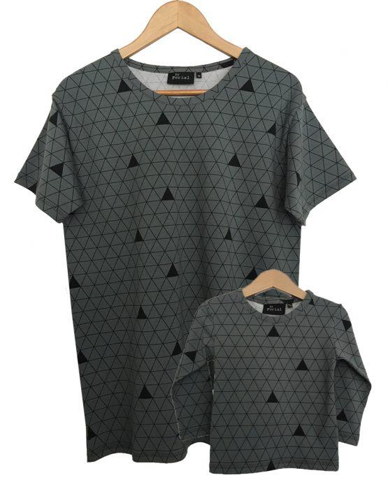grijze driehoek set ls