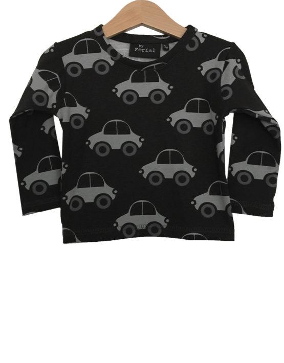 zwartgrijze auto 1