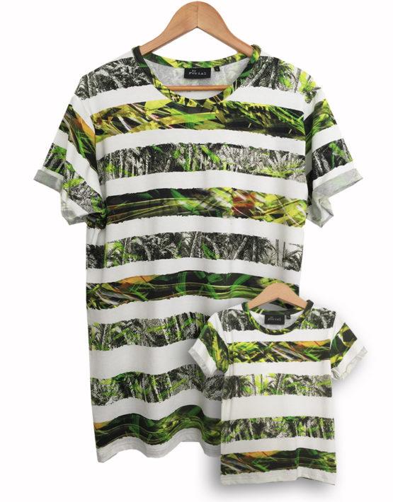 jungle stripe set