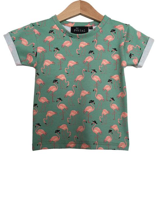 groene flamingo1