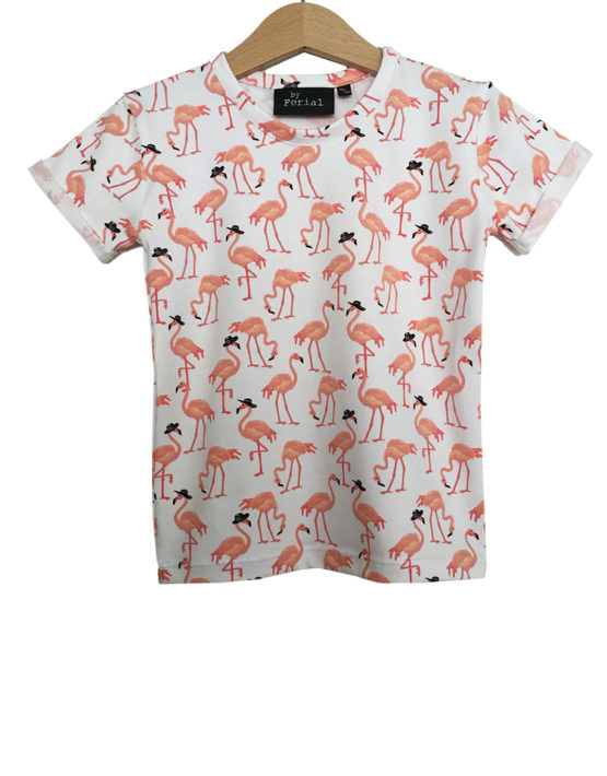 wit flamingo hoedje1